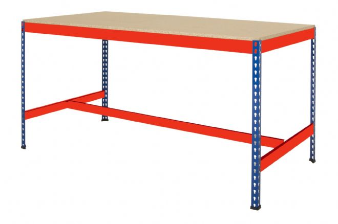 T Bar Workbench - Blue & Orange